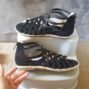 Leather sandals like new